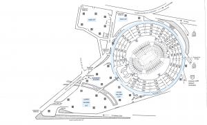 aloha stadium parking map