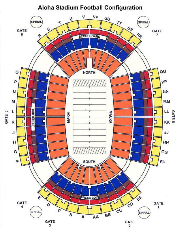 Football Stadium Floor Plan