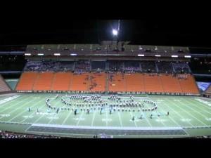 marching band at aloha stadium image photo