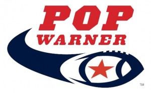pop warner football logo