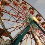 50th state fair century wheel closeup photo