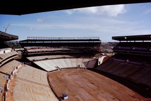 aloha stadium construction photo