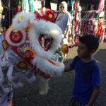 Chinese New Year Lion Dance photo