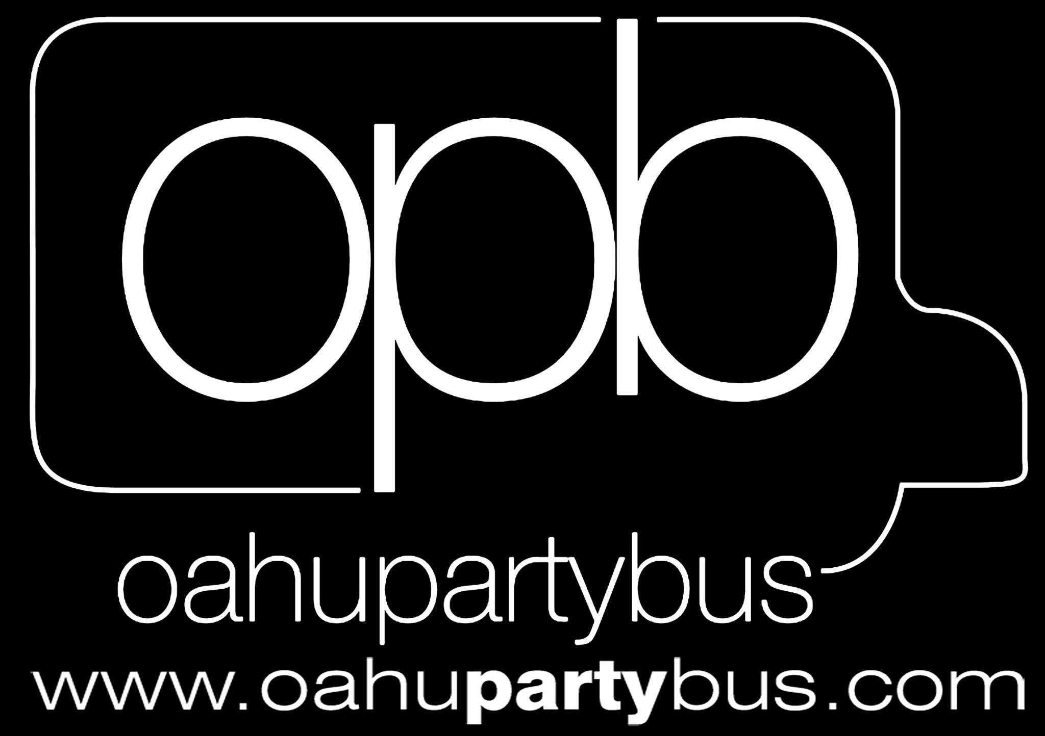 oahu party bus logo