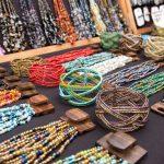 bead jewelry on display