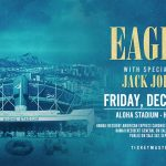 Eagles Concert Advertising graphics