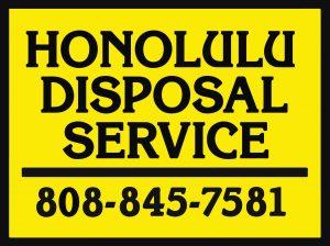 Honolulu Disposal Service Logo