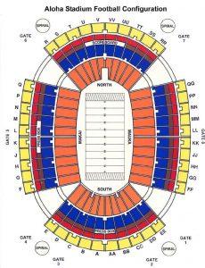 football configuration stadium map layout