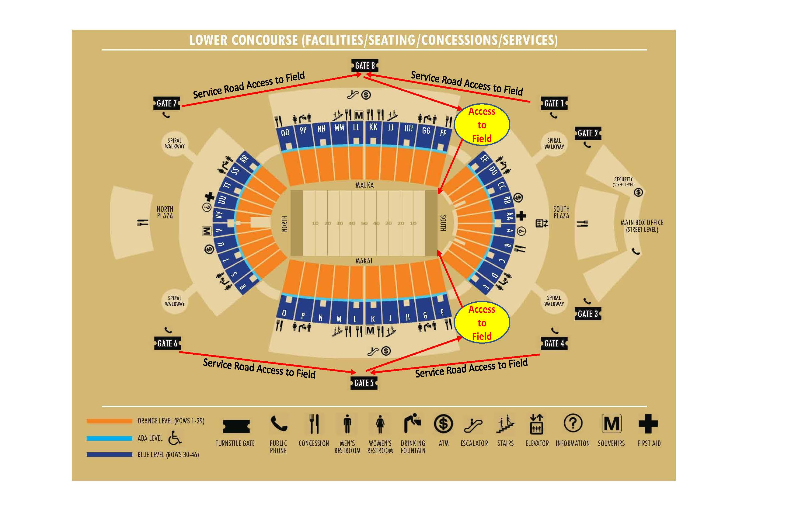 Aloha Stadium | Aloha Stadium Maps