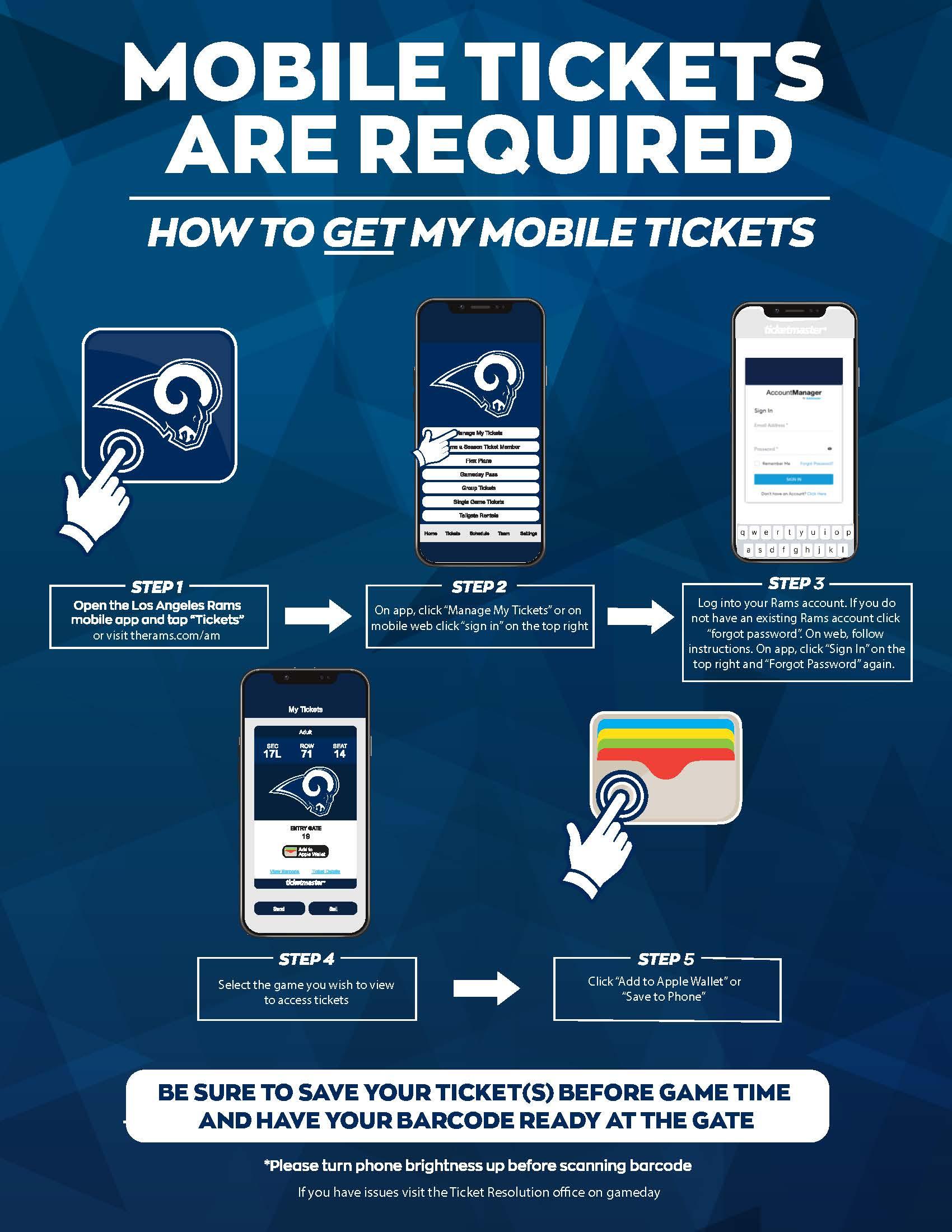 mobile ticketing nfl flyer