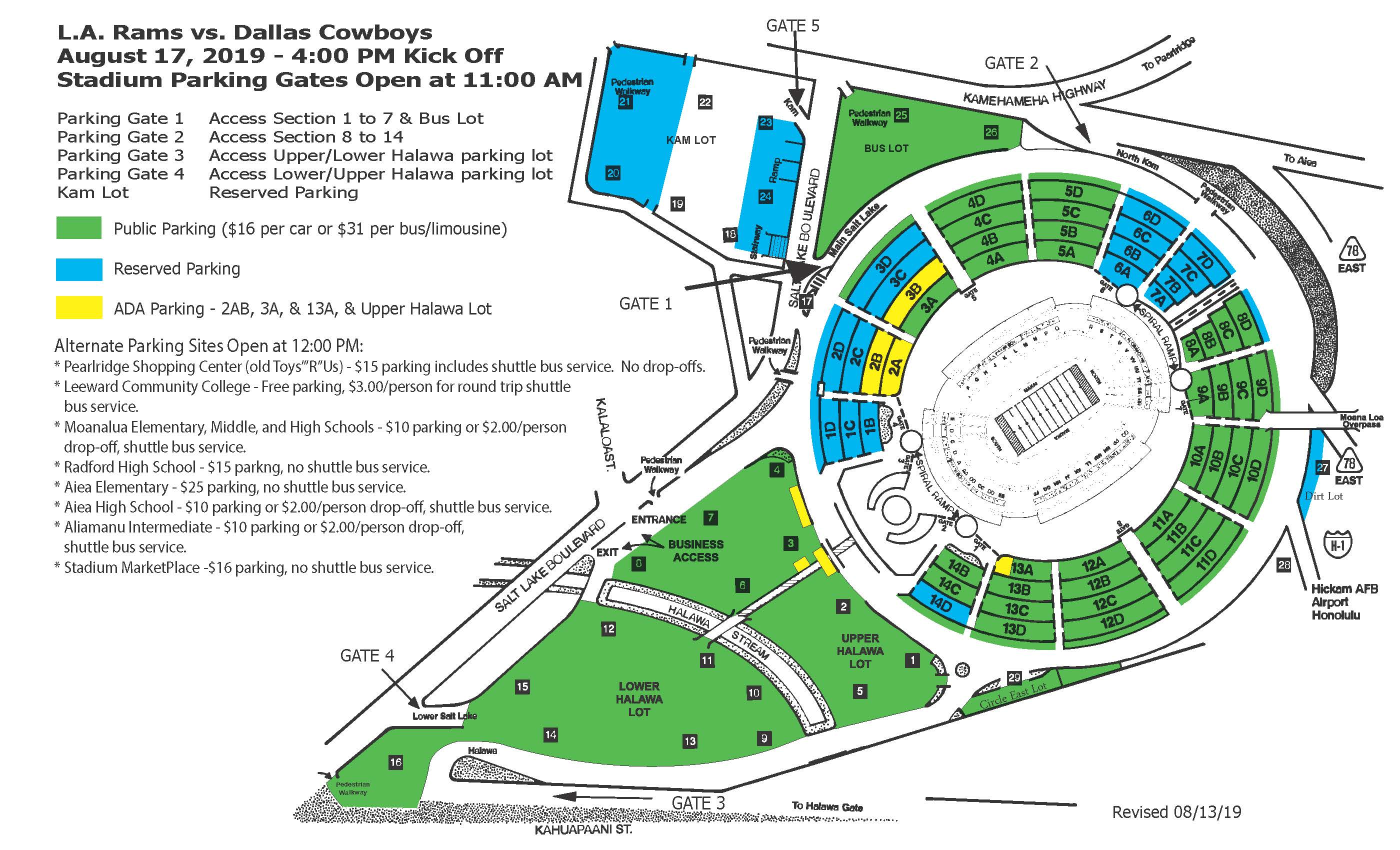 2019 LA Rams Parking Map (Public)
