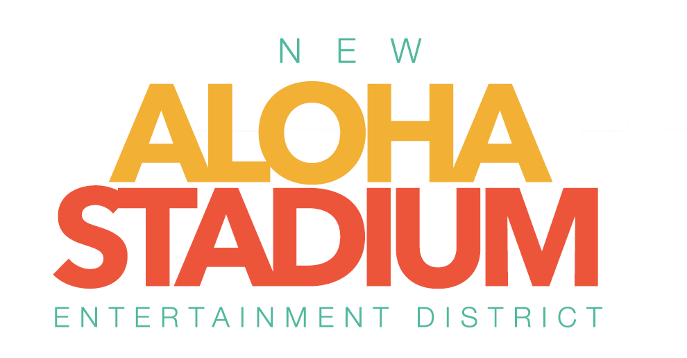 New Aloha Stadium Entertainment District Logo