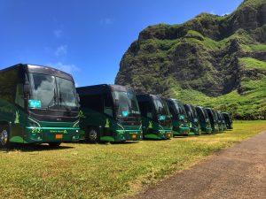 Roberts Hawaii Transportation Bus Photo