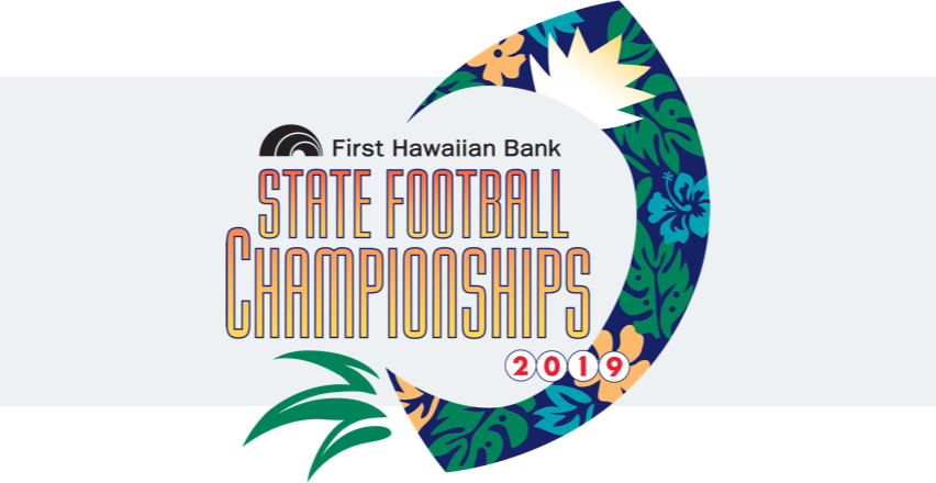 FHB HHSAA Championship Football logo 2019