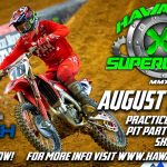supercross motorcross event poster