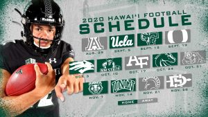 UH Football season team graphics
