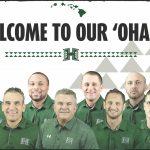 University of Hawaii Football 2020 Football Staff Photo