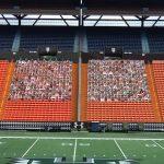UH Fan Cut Out stadium photo
