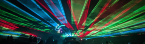 cabin fever light show graphic